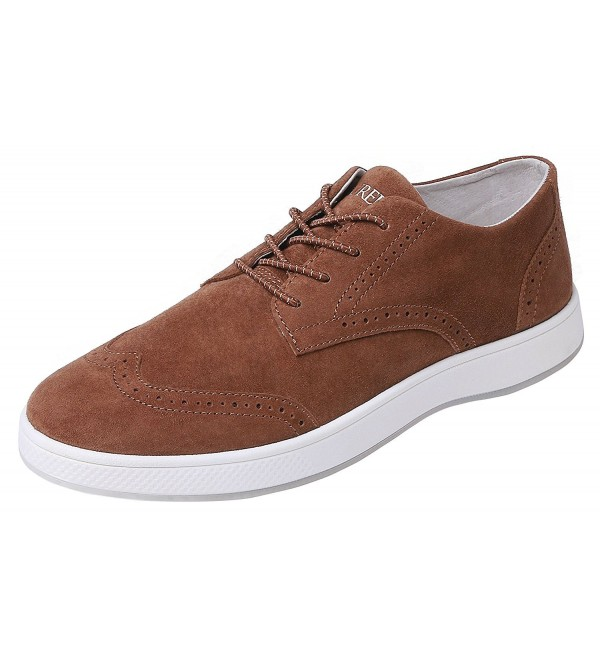 Aureus Chestnut Nubuck Leather Oxford
