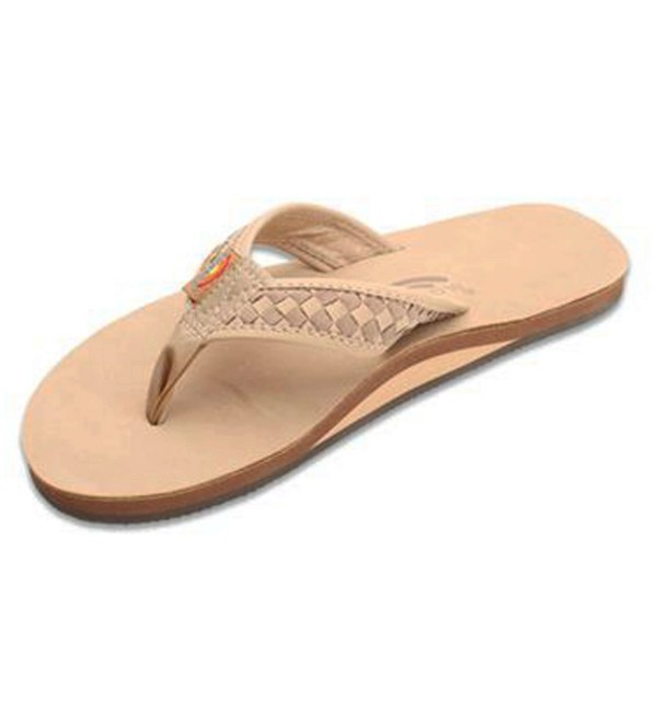 Rainbow Bentley Sandal Brown Dark X Large