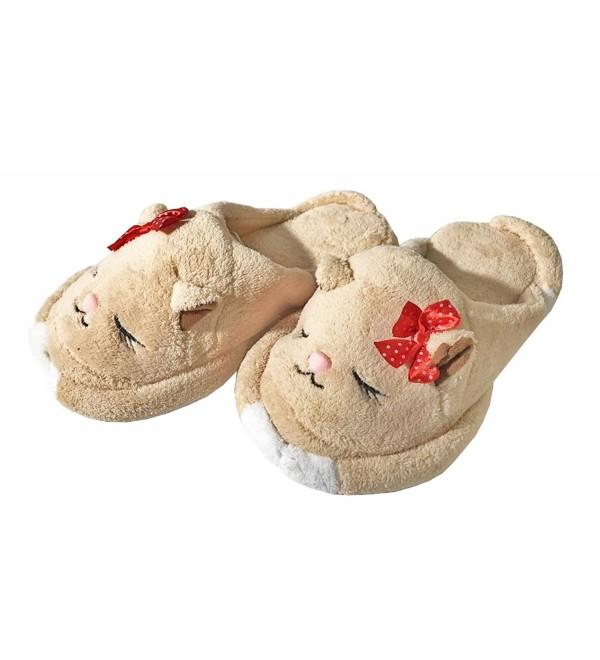 Sleeping Plush Memory Animal Slippers