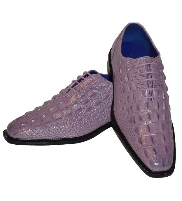 Roberto Chillini Lilac Lavender Embossed