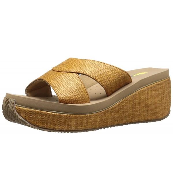 Volatile Womens Howell Wedge Sandal