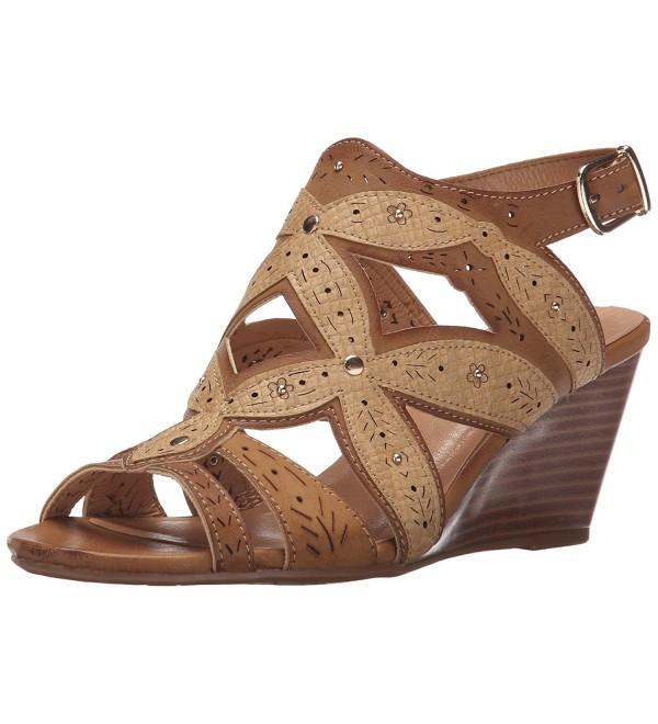 XOXO Womens Shani Wedge Sandal