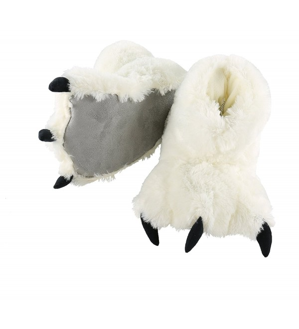 Lazy One Slippers Large White