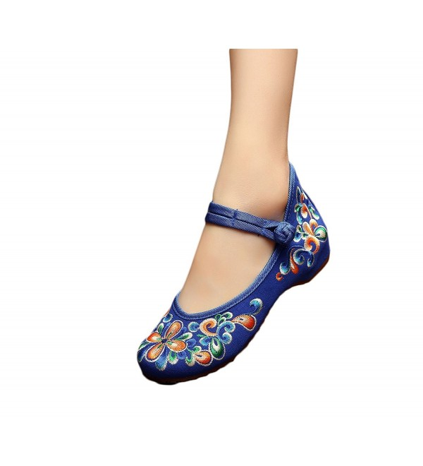EXCELLANYARD Womens Chinese Embroidery Shoes