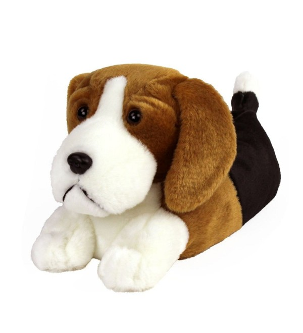 AnimalSlippers com H9 2DKV F7PW Beagle Slippers Size