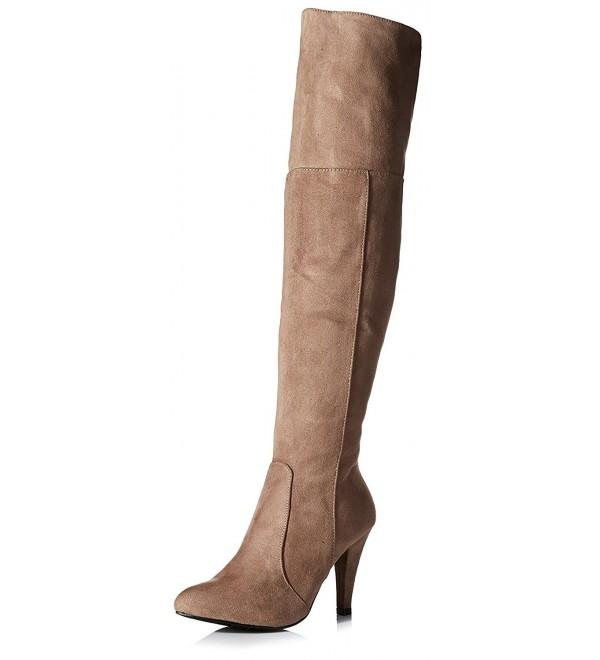 Bucco Womens Alivia Boot Taupe