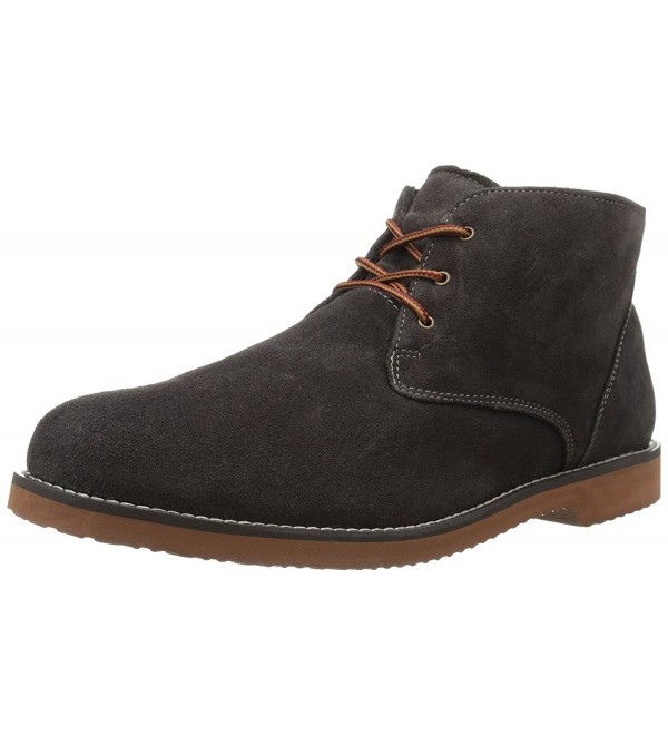 Nunn Bush Woodbury Brown Suede