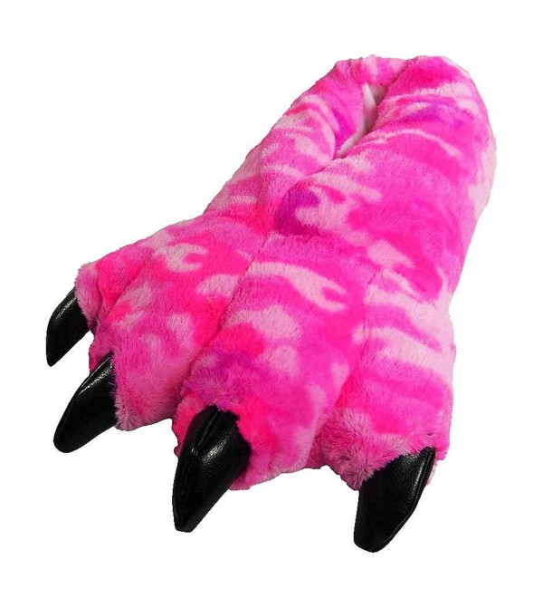 Wishpets Pink Camo Slippers Plush