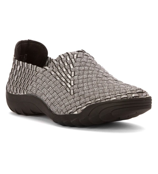 Bernie Mev Womens Rigged Pewter