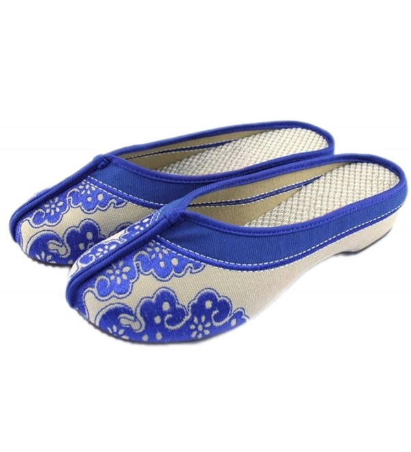 AvaCostume Womens Porcelain Slippers Chinese