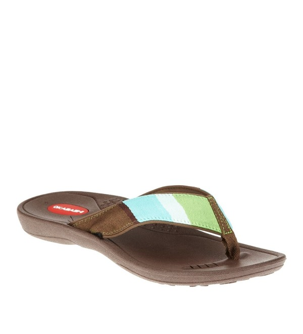Okabashi Indigo Thong Sandals Womens