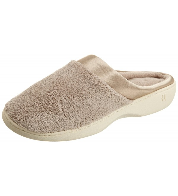 Isotoner Womens Microterry PillowStep Slippers