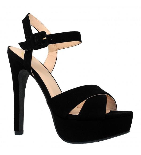MVE Shoes Womens Strappy Pumps Shoes