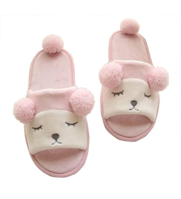 TOKYO T Animal Slippers Women Fleece