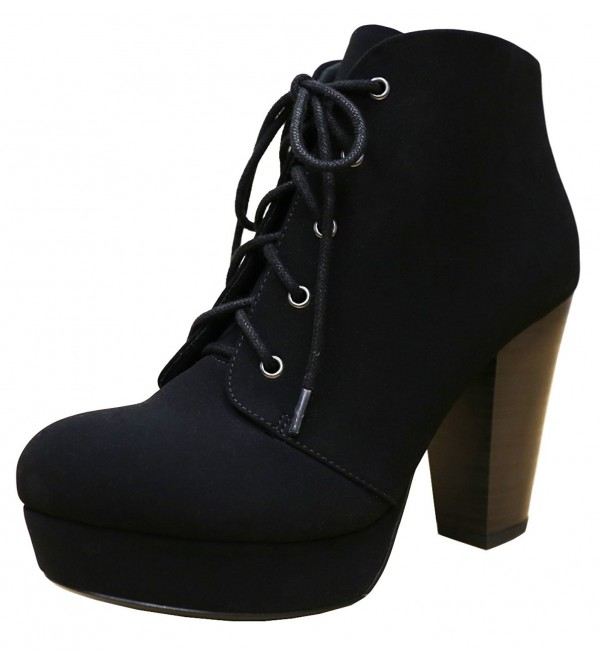Cambridge Select Lace Up Platform Stacked
