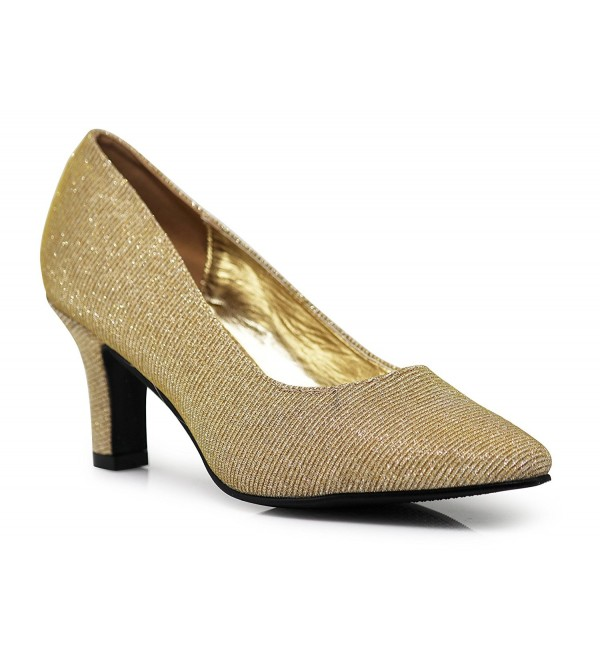 59549f825e5 cambria03 Women s Wide Width Glitter Pointy Toe Low Heeled Pointy ...