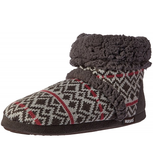 Womens Promo Dmd Fairisle Slipper Diamond