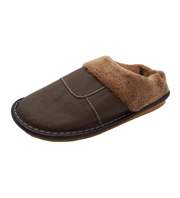 Besli Indoor Outdoor Leather Slipper