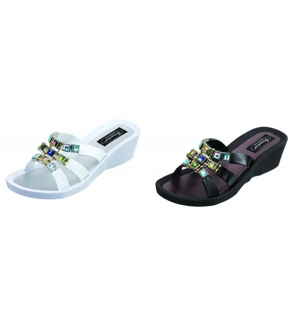 26738E Grandco Topaz Wedge Sandal