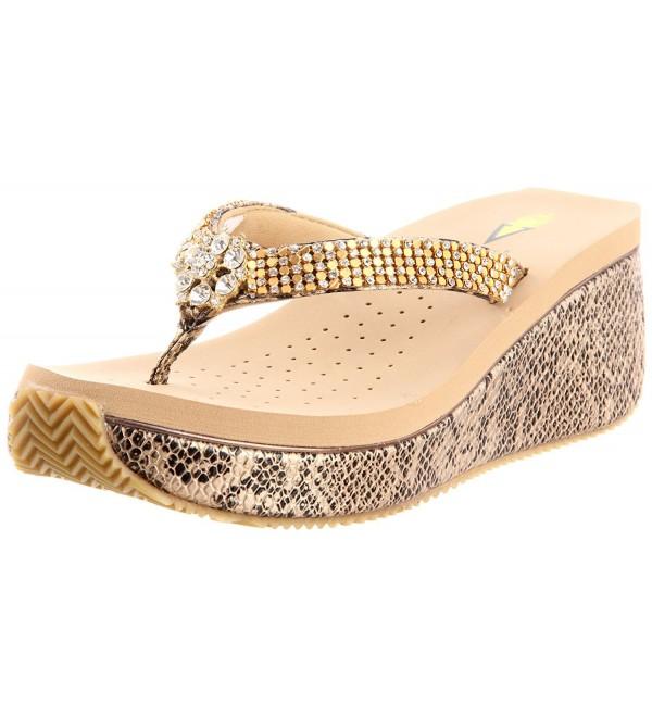 Volatile Womens Lexie Sandal Bronze