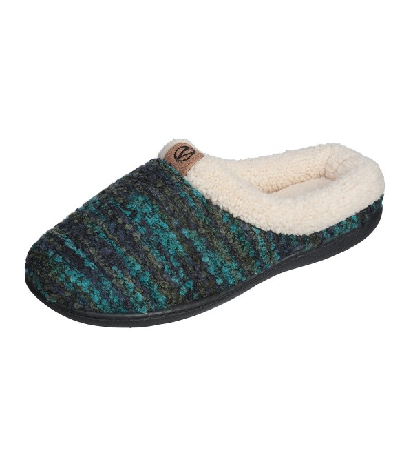 Joan Vass Sweater Memory Slippers