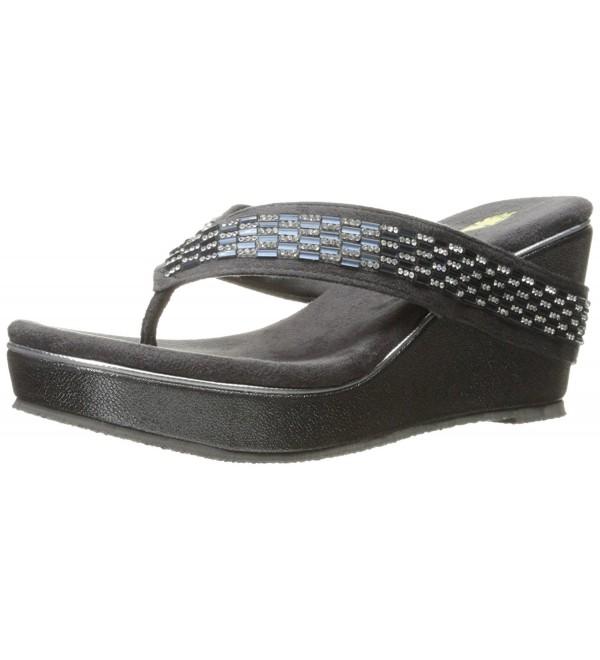 Volatile Womens Carilla Sandal Charcoal