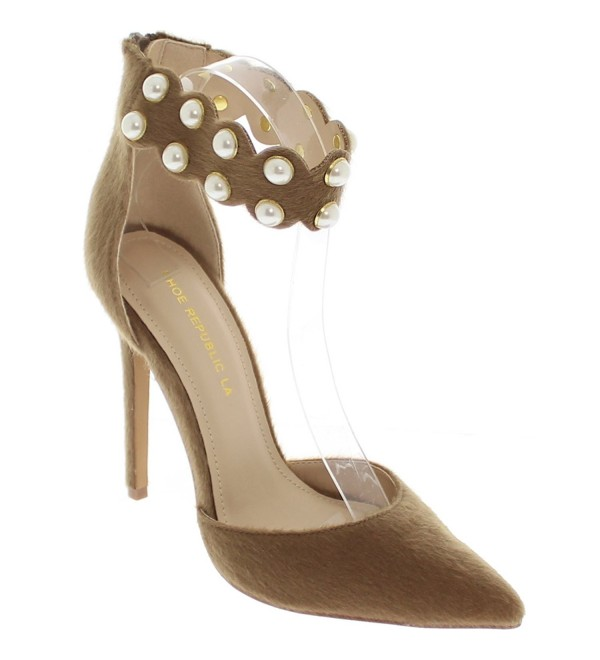 Shoe Republic DOrsay Stilleto Pearl