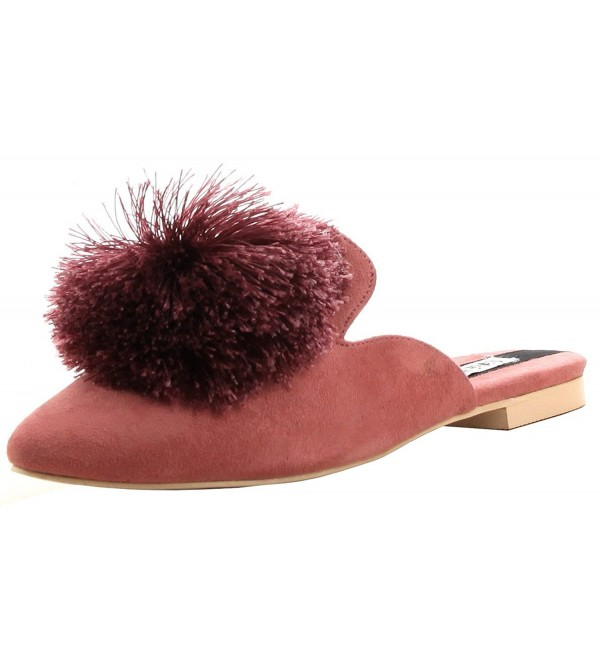 Robbin Womens Pointed Backless Slipper