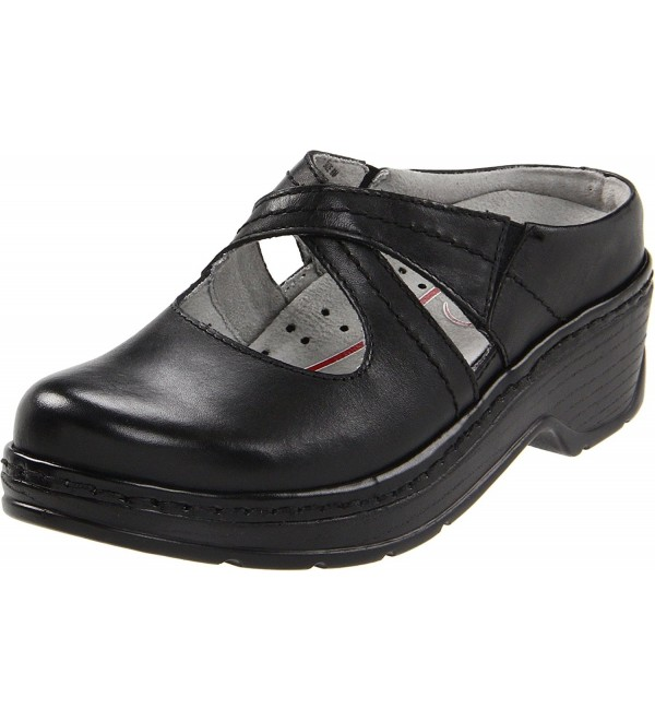 Klogs Footwear Womens Black Smooth