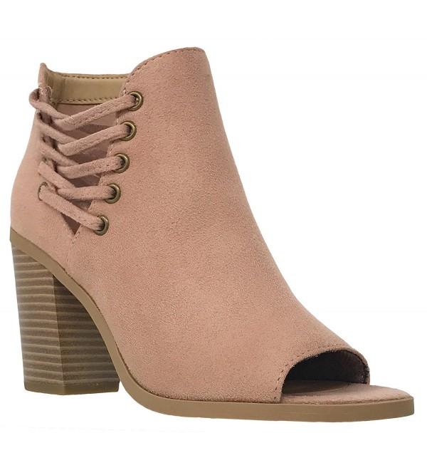 MVE Shoes Womens Booties Chunky