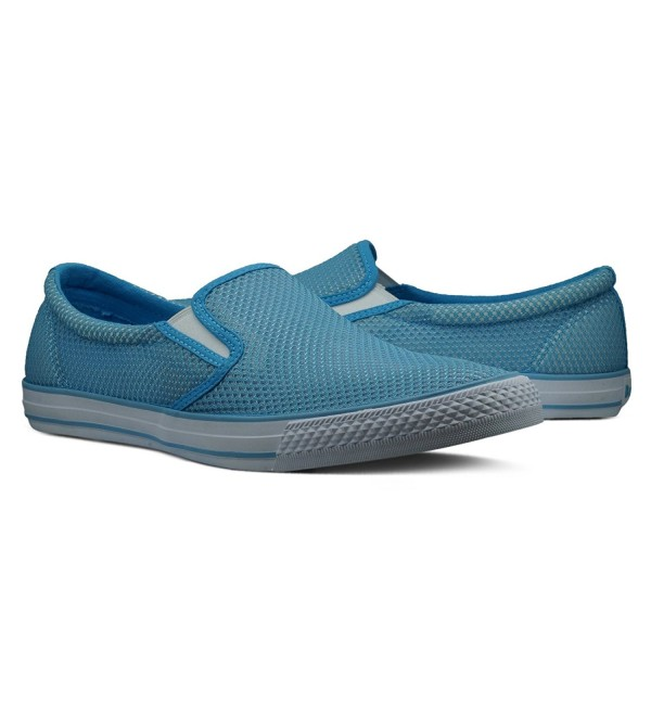 Burnetie Mens Blue Skid sneaker