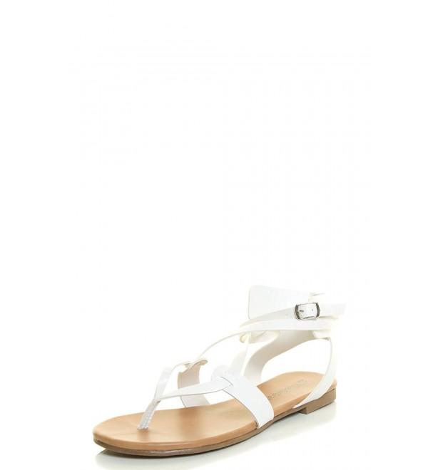 Breckelles Womens CAPRI 04 Cutout Sandal