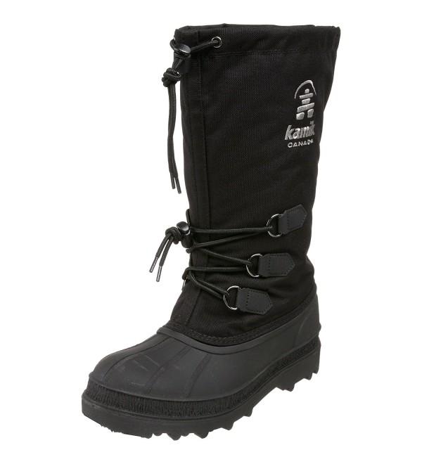Kamik Womens Canuck Boot Black