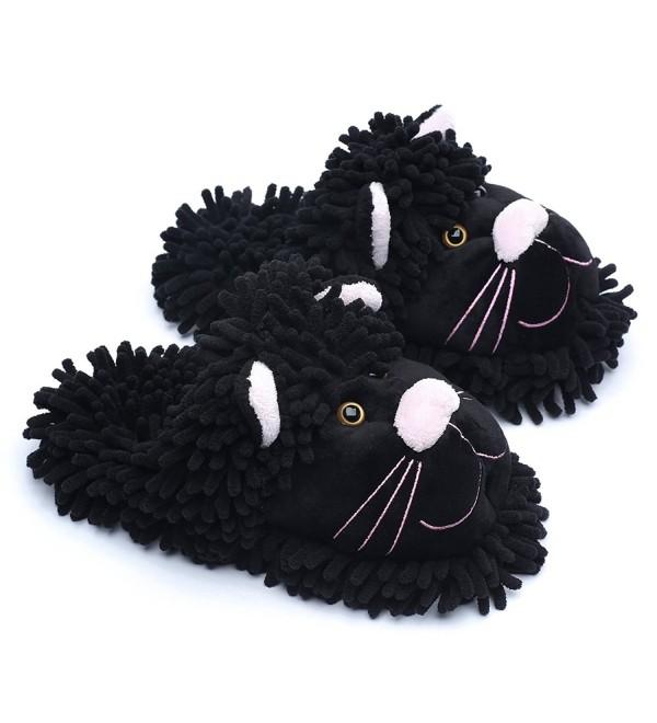 Ofoot Winter Anti slip Indoor Slippers