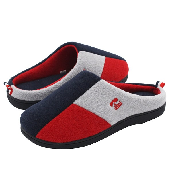 RockDove Tri Color Slippers Blocking Lounging