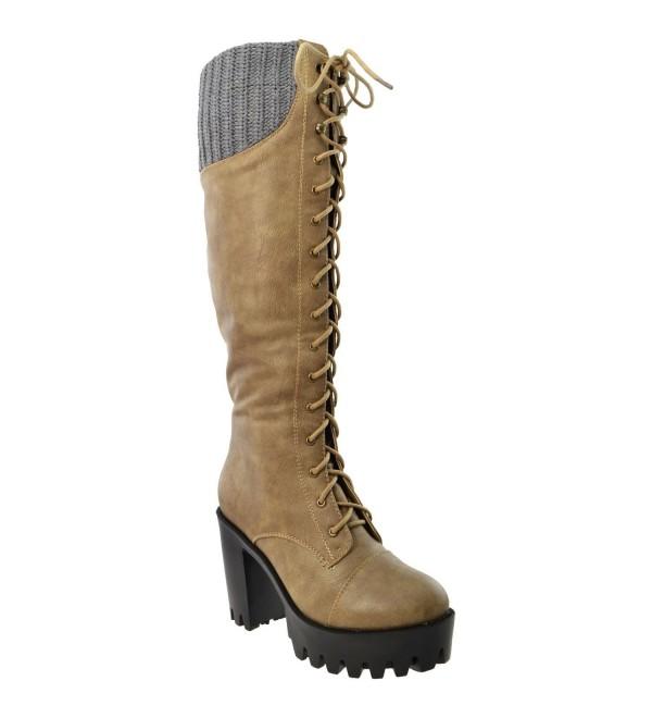 Generation Womens Boots Combat Shoes