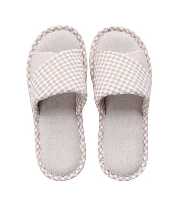 mianshe Womens Cotton Slippers Anti Slip