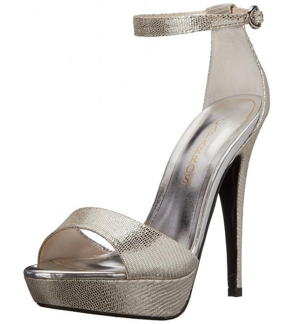 Caparros Womens Tasha Sandal Silver