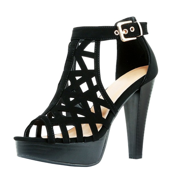 Guilty Shoes Gladiator Platform Fashion