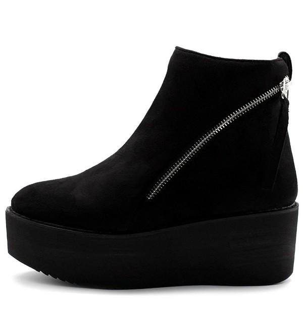 Ollio Womens Shoes Platform TWB0105