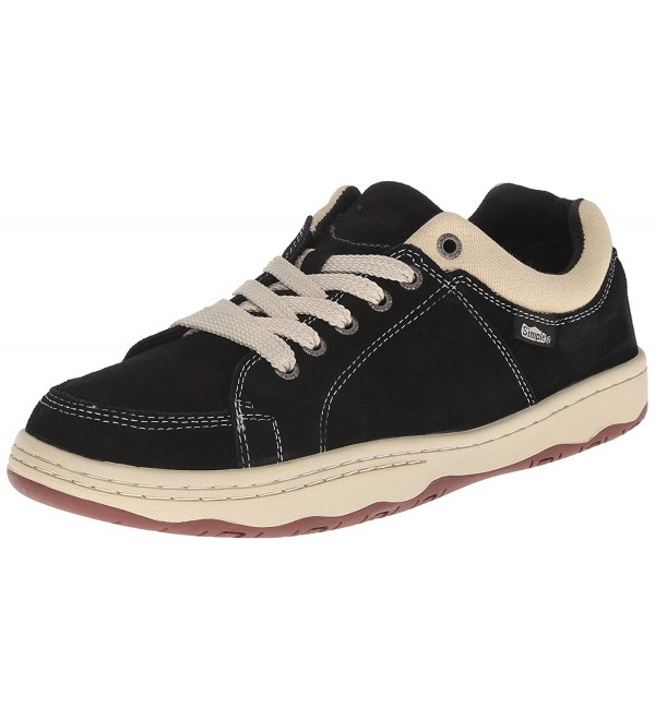 Simple Pipeline 1 Fashion Sneaker Black