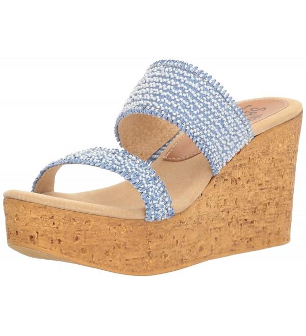 Sbicca Womens Moreno Wedge Sandal
