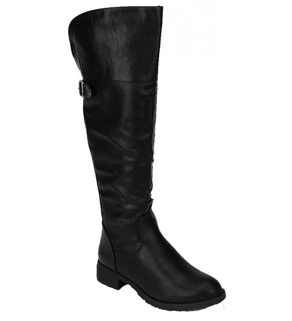 Sarah Womens Round Riding Boots