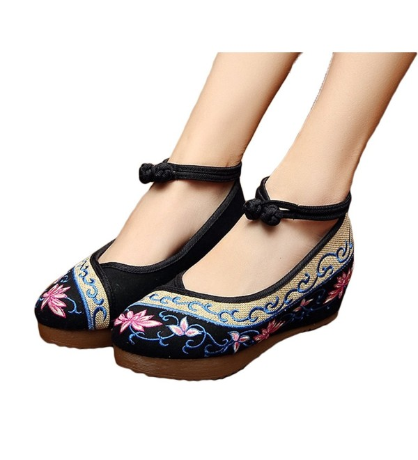 AvaCostume Beijing Embroidery Sandals Comfortable