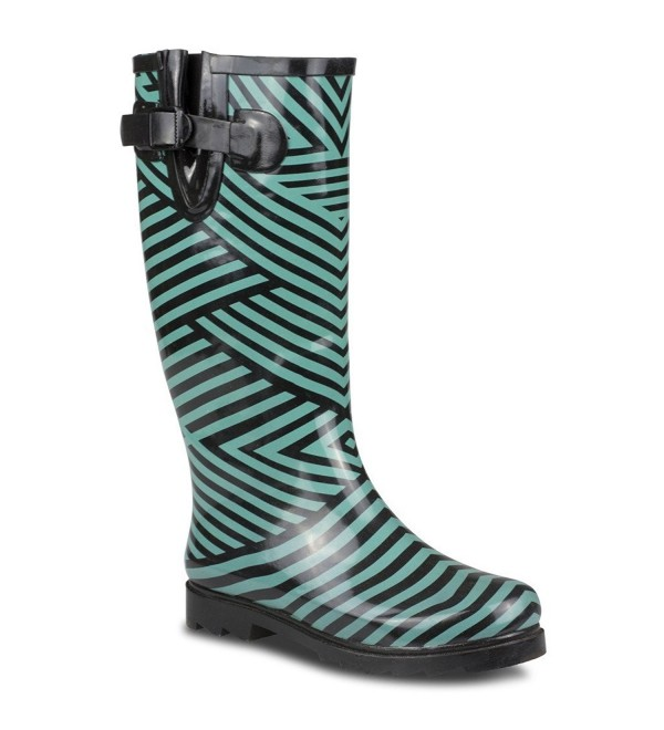Twisted Womens Drizzy Rubber Boots
