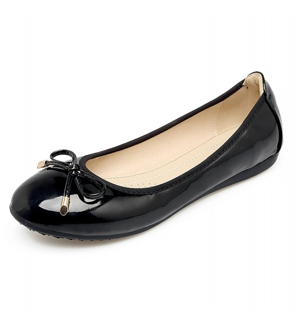 Meeshine Womens Foldable Ballet Flats