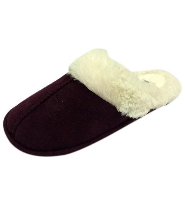 Hehainom Unisex Lining Slippers Anti Slip