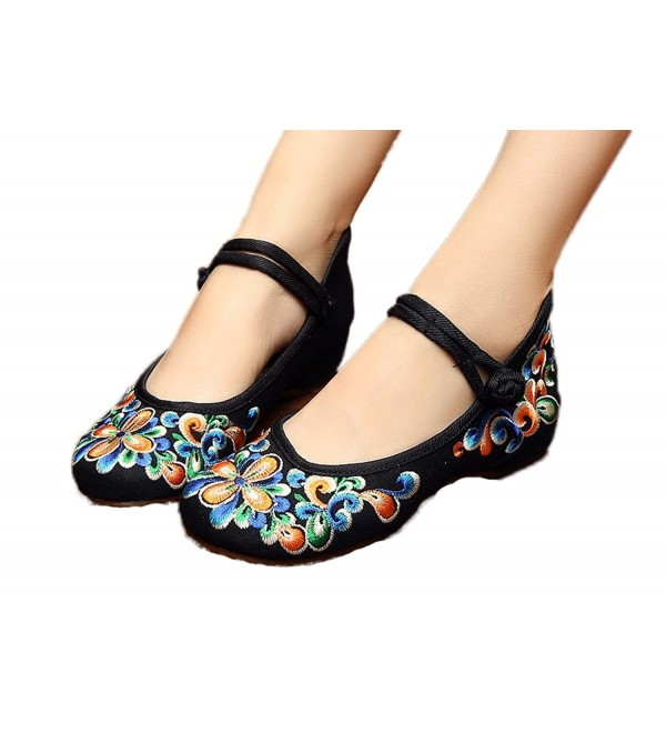 AvaCostume Womens Chinese Embroidery Walking