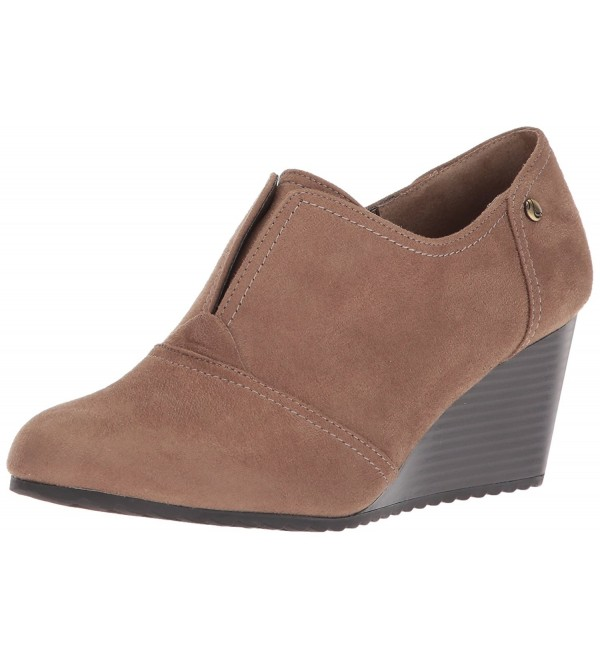 LifeStride Womens Punch Ankle Taupe