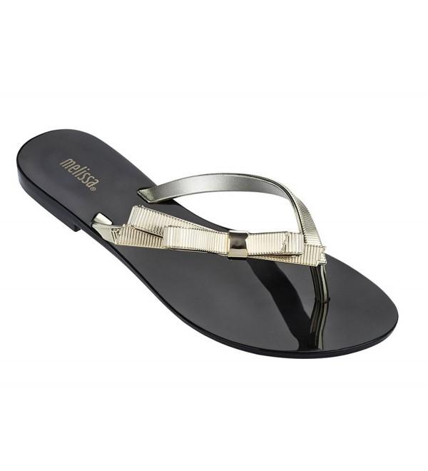 Melissa Womens Harmonic Chrome Sandals